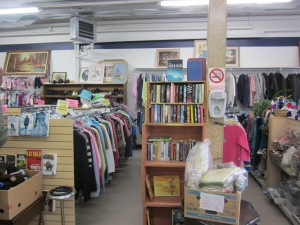 interior Selkirk Thrift Shop
