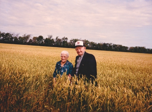 My grandparents Diedrich and Margaretha Peters who were born in Ukraine and whose lives were forever changed by the Break Event