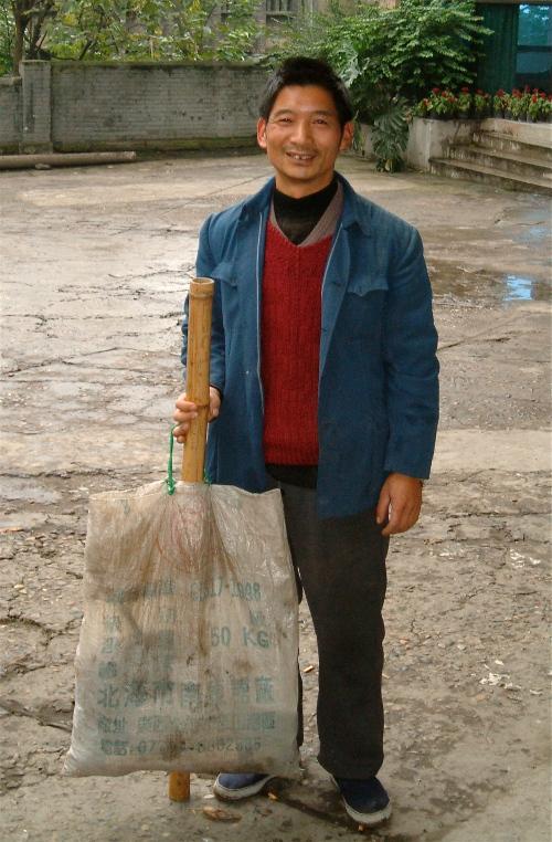 stick stick man chongqing