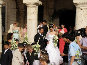 wedding at the church in cana