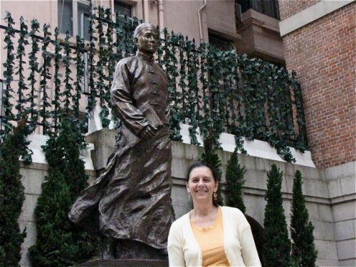 At the Dr. Sun Yat Sen Museum in Hong Kong