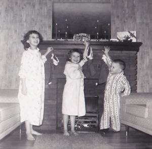 hanging stockings 1959