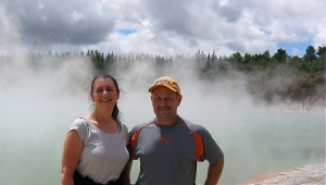 visiting wai o tapu thermal fields new zealand
