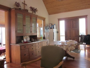 kitchen area retreat house herschel