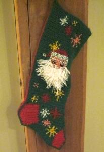 grandma made christmas stocking