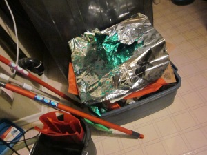 gift wrap in recycling