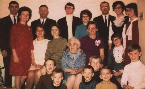 Celebrating Christmas with Mom's family in Saskatchewan