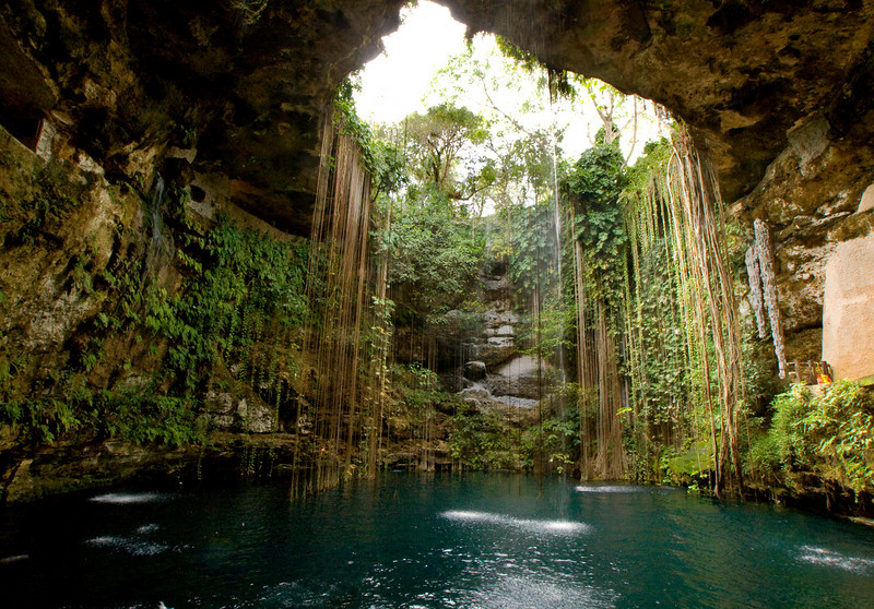 chichen itza mexico natural swimming pool 301 moved permanently