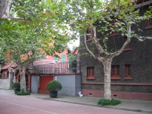 The Sun Yat Sen house in Shanghai