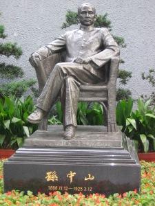 Statue of Dr. Sun Yat Sen in Shanghai