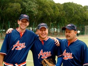 Dave and Jeff played baseball together in Hong Kong