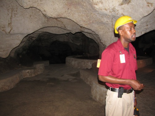 chett our guide green grotto caves