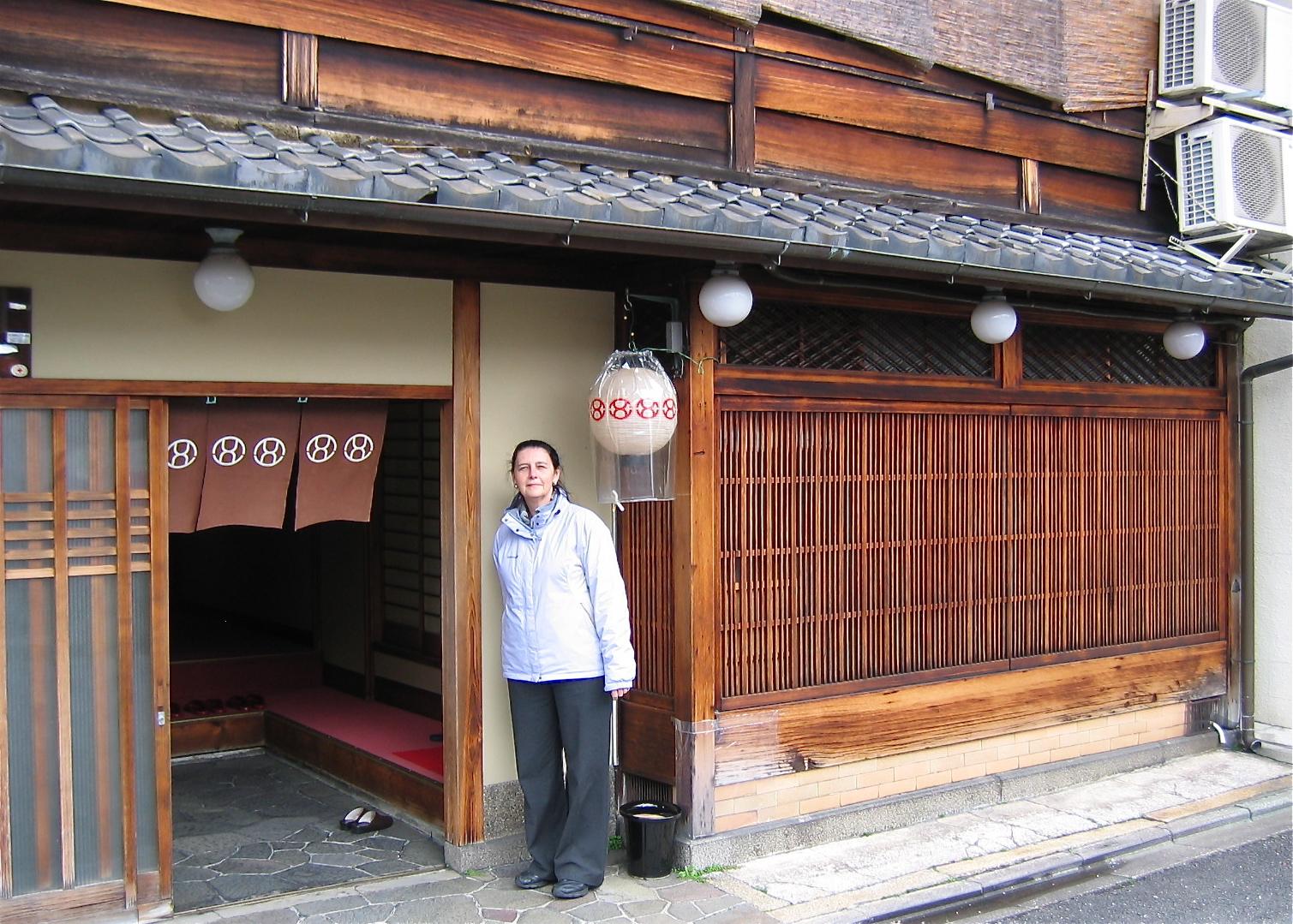 Geisha houses i japan