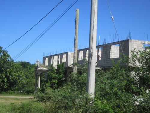 partially built home jamaica