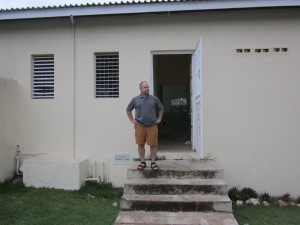 dave outside runaway bay resource centre