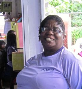 Mrs. Claudette Brown daycare owner