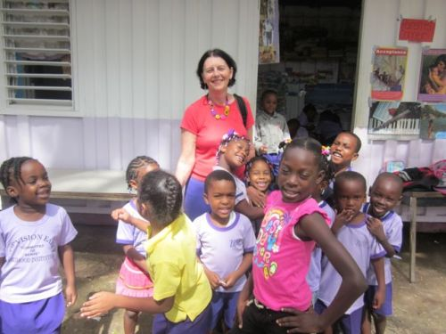 kids in jamaican daycare