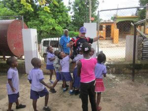 dave and kids in jamaica daycare