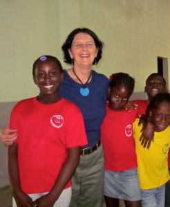 marylou and jamaican students