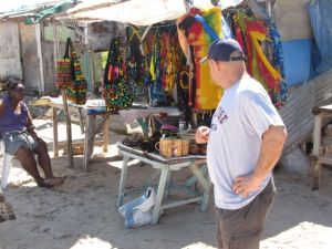 vendors on beach