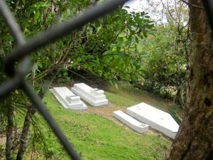 graves of bob marley's grandparents