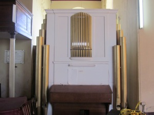 pipe organ st. peter's anglican church falmouth