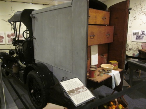 This special Model T Ford was designed especially for Thomas Edison and his friends to take on camping trips
