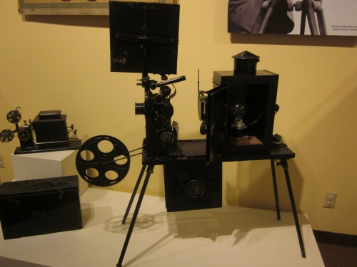 Thomas Edison made hundreds of movies and the 1903 Great Train Robbery was shot in the Edison studios