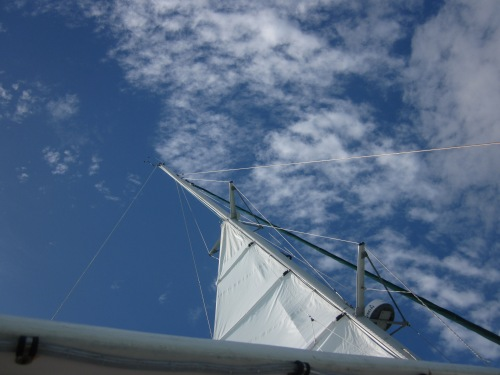 the sail and the sky