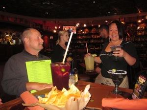 friendly waitress