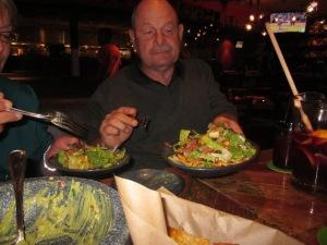 salad rocco taco