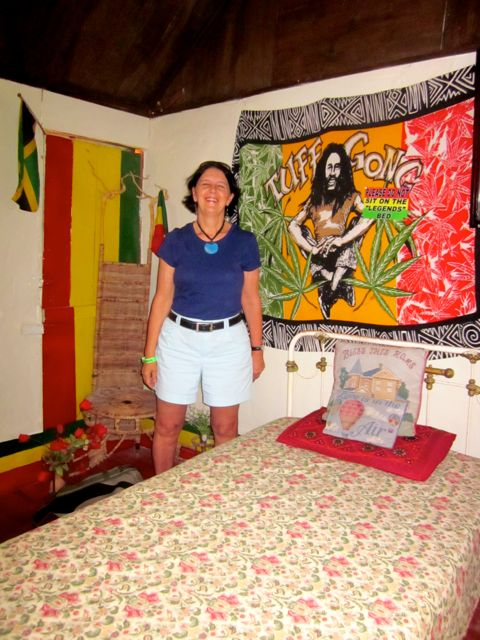 alfa img showing bob marley room