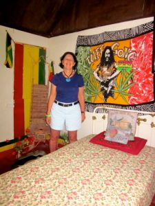 me in bob marley's bedroom