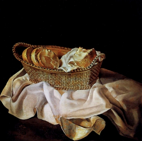 The Basket of Bread by Salvador Dali