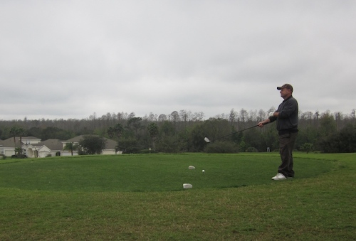 dave on legends of orange lake course