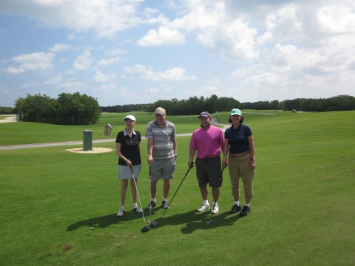 golfing cancun