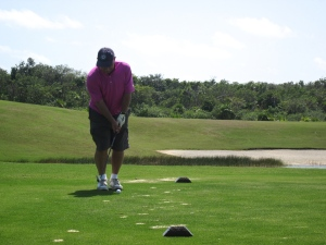 dave golf cancun