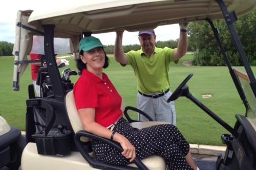 golfing can fun