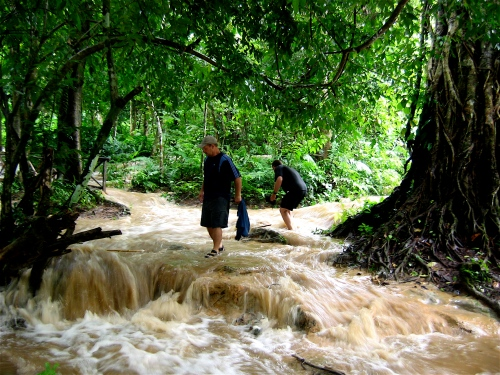 dave rushing water laos