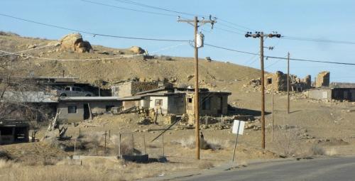 Hopi Village or Oraibi