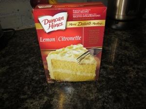 lemon cake  mix