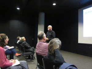 ken roberts at the millenium library