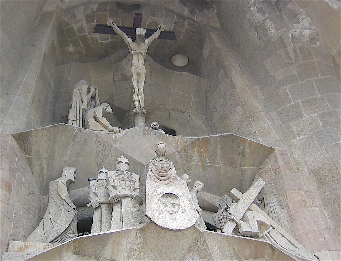 Judas Kissing Jesus Sagrada Familia What Next