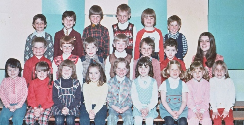 school class 1974-75