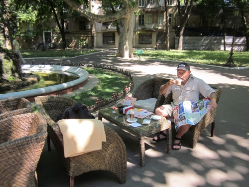 coffee in the park odessa