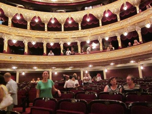 night at the opera Le Boheme