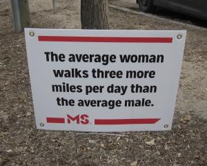 men and women walkers