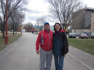 marylou and dave at the forks