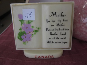 Mother's Day poem and Canada souvenir all in one ornament