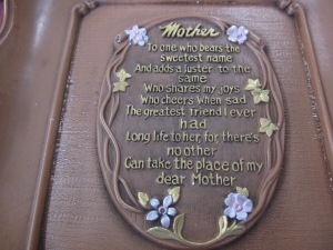 Plaque for Mother's Day